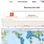 Nabû, moteur de recherche des Archives de la FMSH