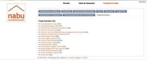 Liste des fonds d'archives décrits dans Nabû