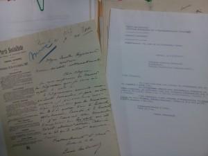 """Dossier """"Tensions induites par la crise d'Agadir (1911)"""", fonds Georges Haupt, Archives de la FMSH"""